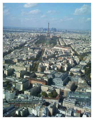 kurs francuskiego w paryżu - panorama paryża z wieży montparnasse