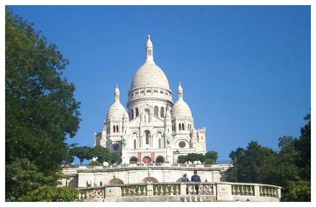 kurs francuskiego w paryżu - bazylika sacre-ceur